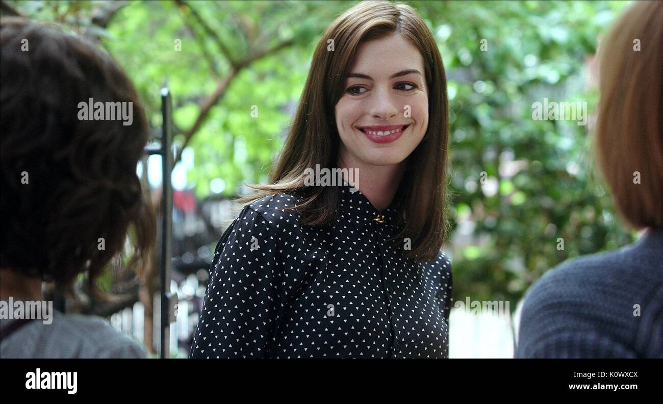 ANNE HATHAWAY THE INTERN (2015) - Stock Image