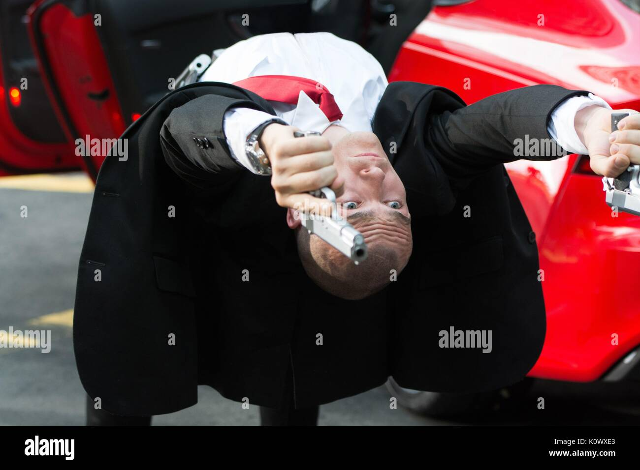 Rupert Friend Hitman Agent 47 2015 Stock Photo 155462891