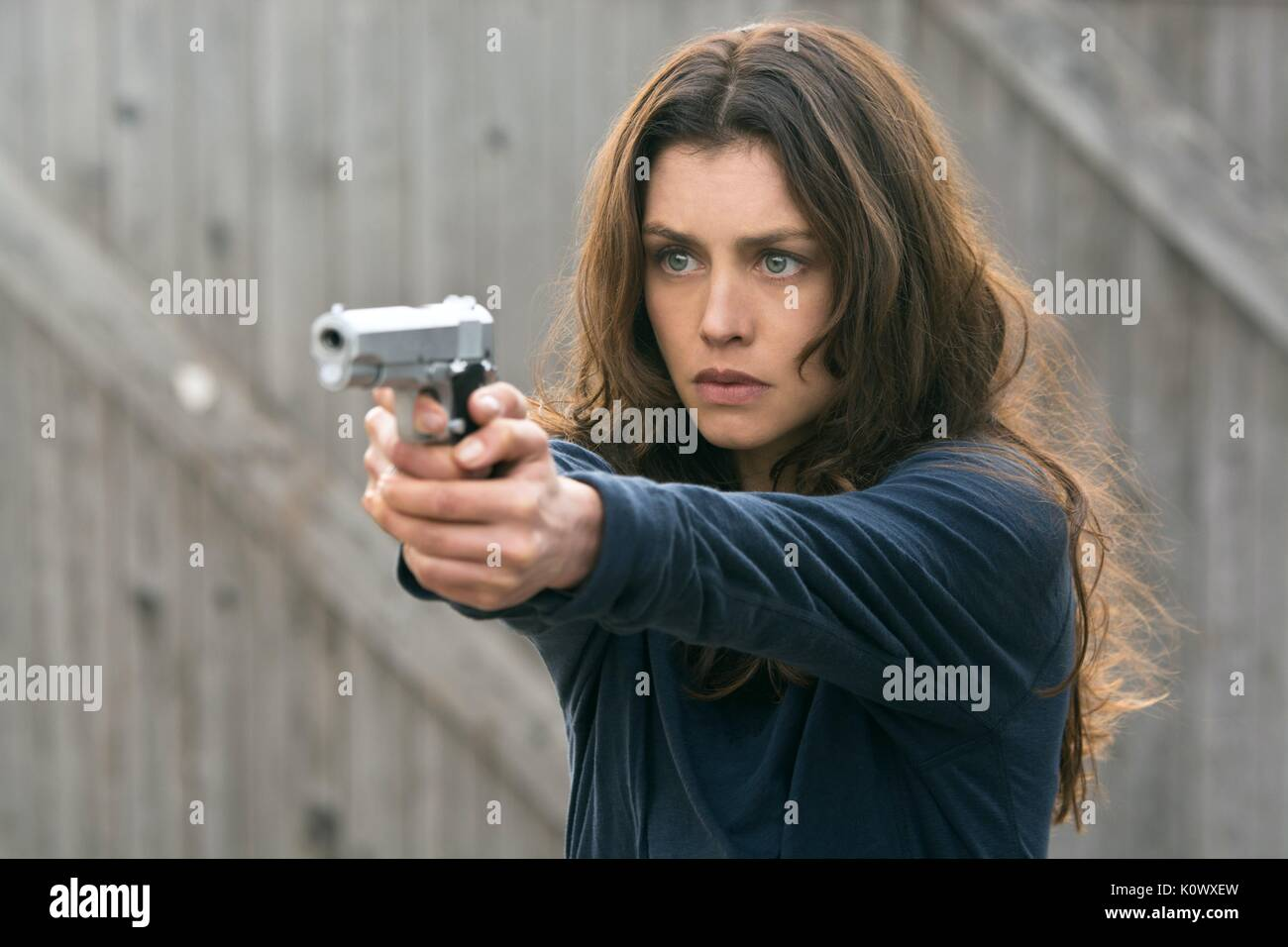 Hannah Ware Hitman Agent 47 2015 Stock Photo Alamy