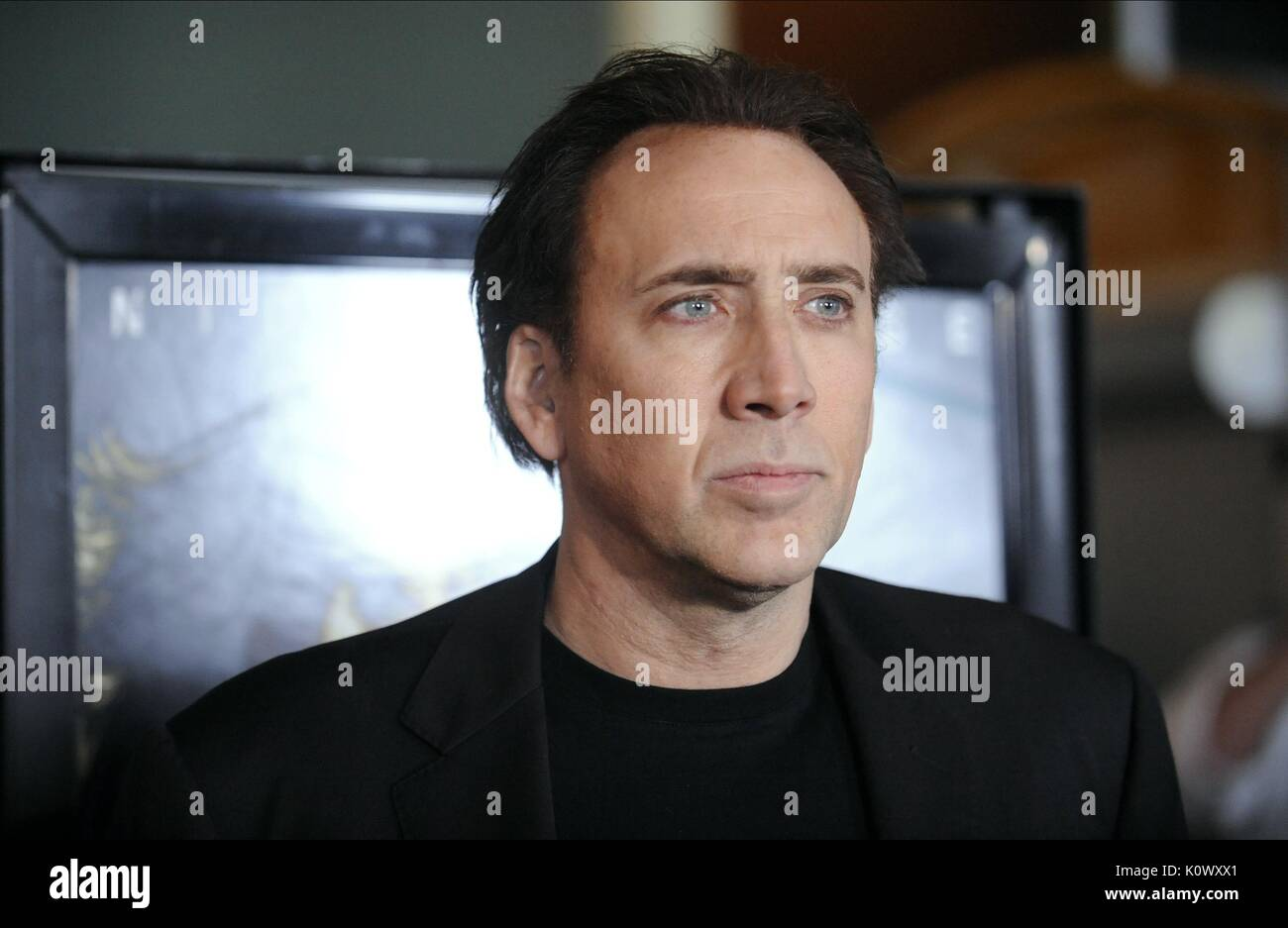NICOLAS CAGE THE RUNNER (2015) - Stock Image