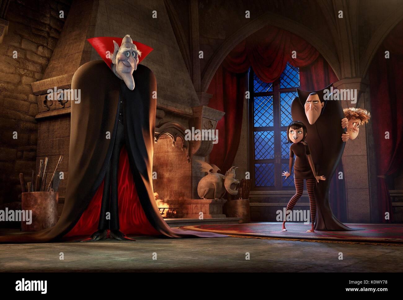 Vlad Mavis Dracula Jonathan Hotel Transylvania 2 2015 Stock Photo Alamy
