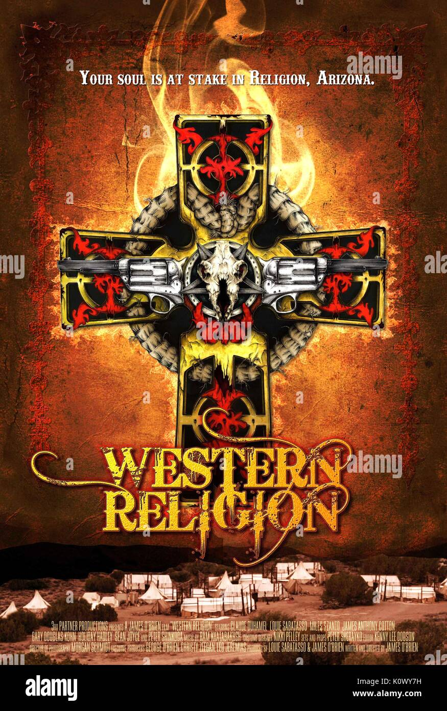 MOVIE POSTER WESTERN RELIGION (2015) - Stock Image