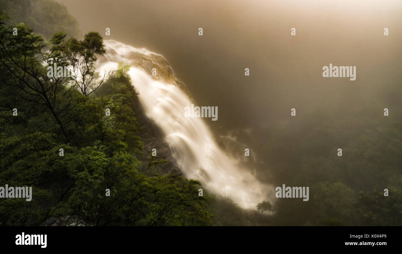 Bridal Veil Falls, Leura, Blue Mountains, NSW, Australia Stock Photo