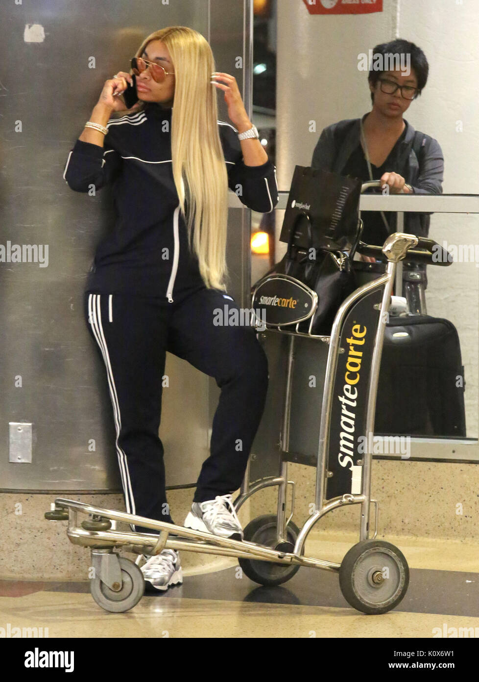 528014e1d28 Blac Chyna arrives at Los Angeles International (LAX) Airport Featuring  Blac  Chyna Where  Los Angeles