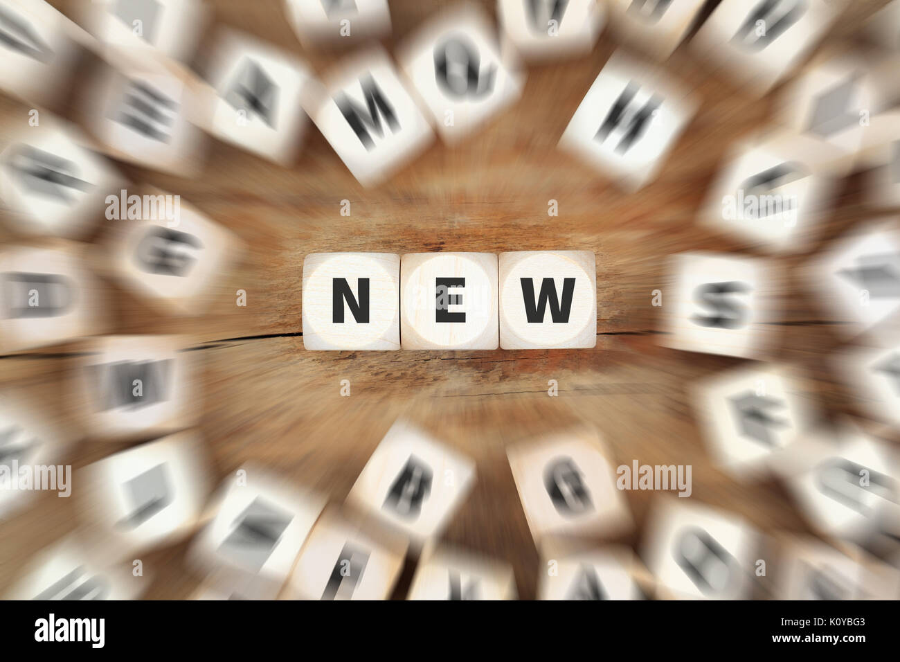 New promotion advertising dice business concept idea - Stock Image