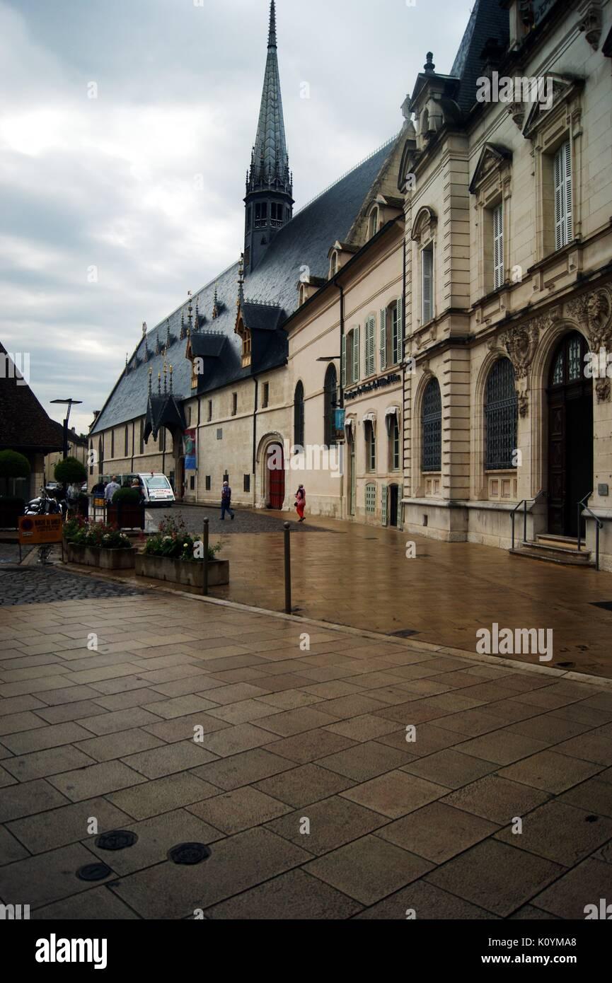 The Hotel Dieu, Beune, France - Stock Image