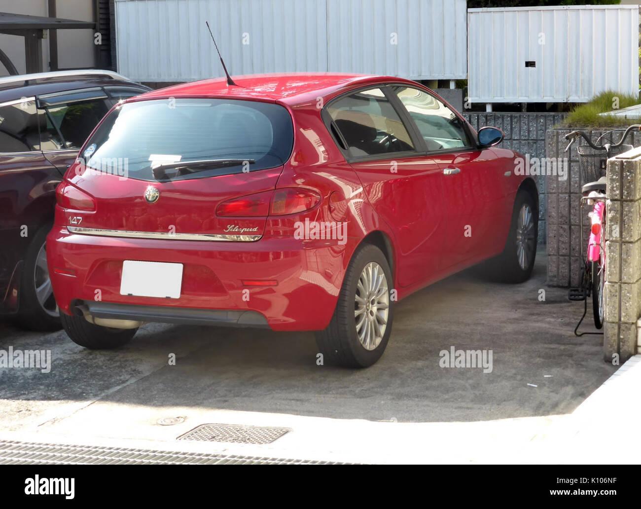 Alfa Romeo 147 Selespeed Rear Stock Photo 155513275 Alamy