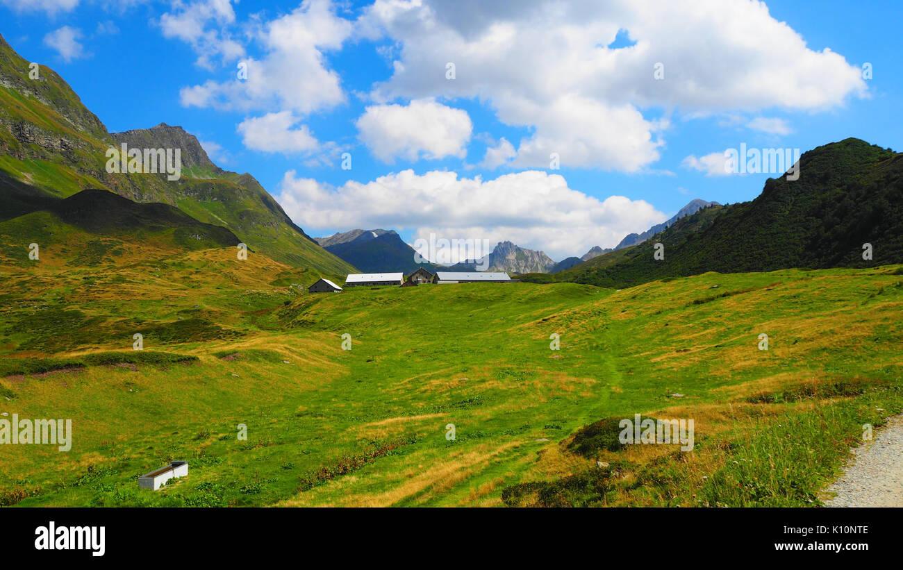 Alpe di Piora Leventina Stock Photo