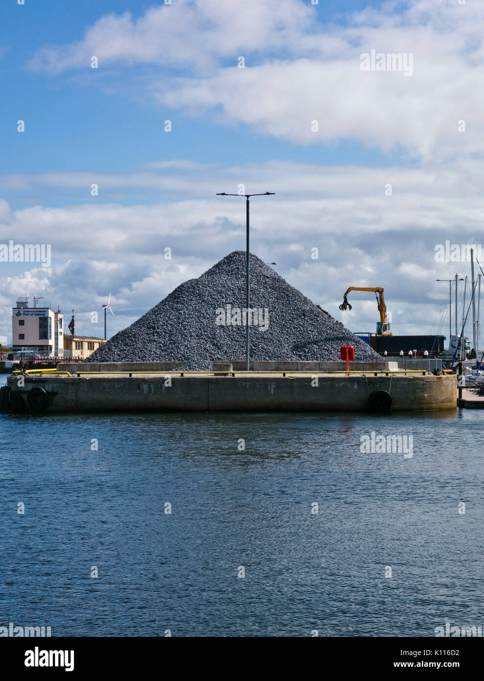 Pile Of Stones - Stock Image