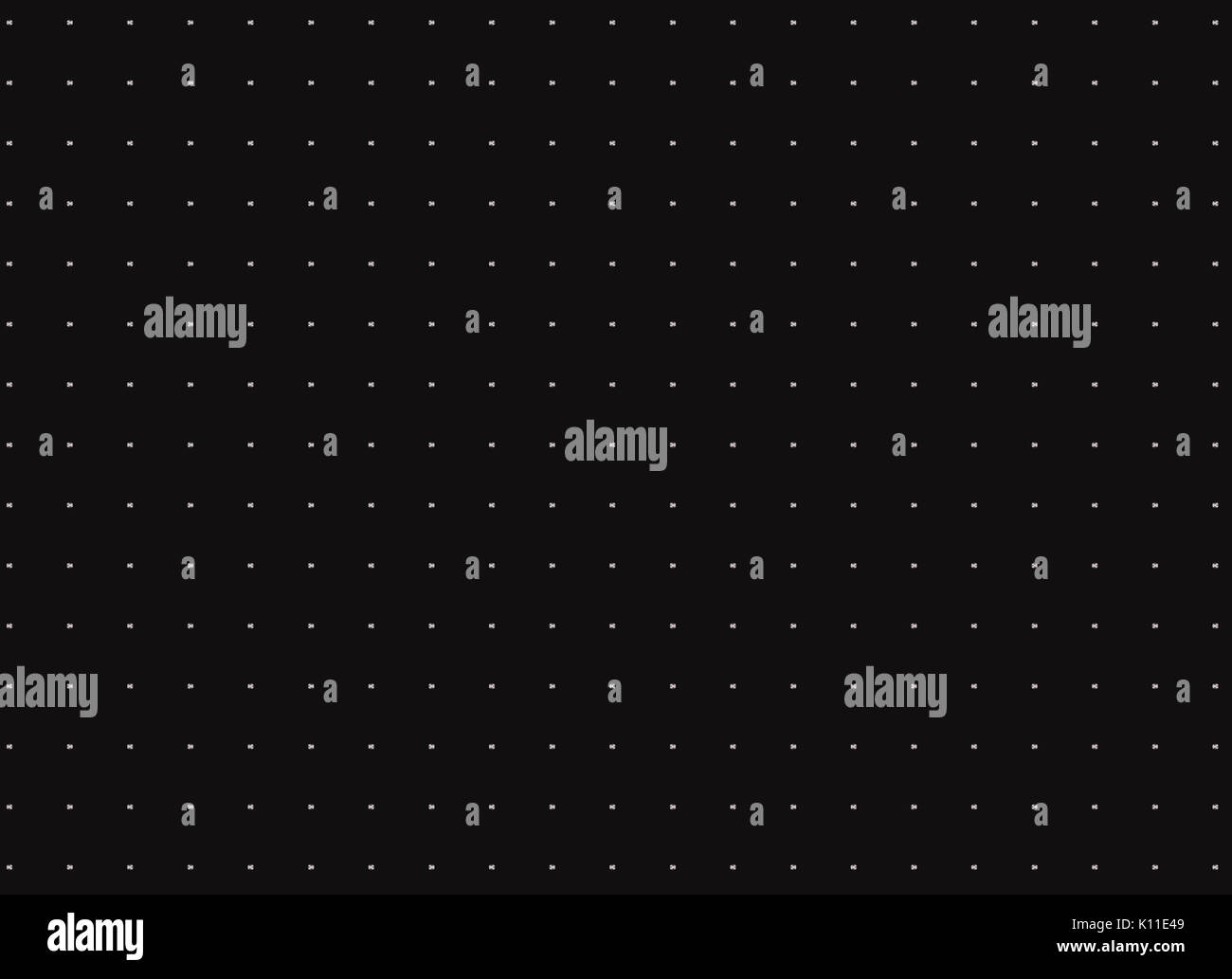 Abstract modern advertising, white dot on black  background, pattern; plain; surface; texture; wall; graphic; industry; pattern, template; texture; Stock Photo
