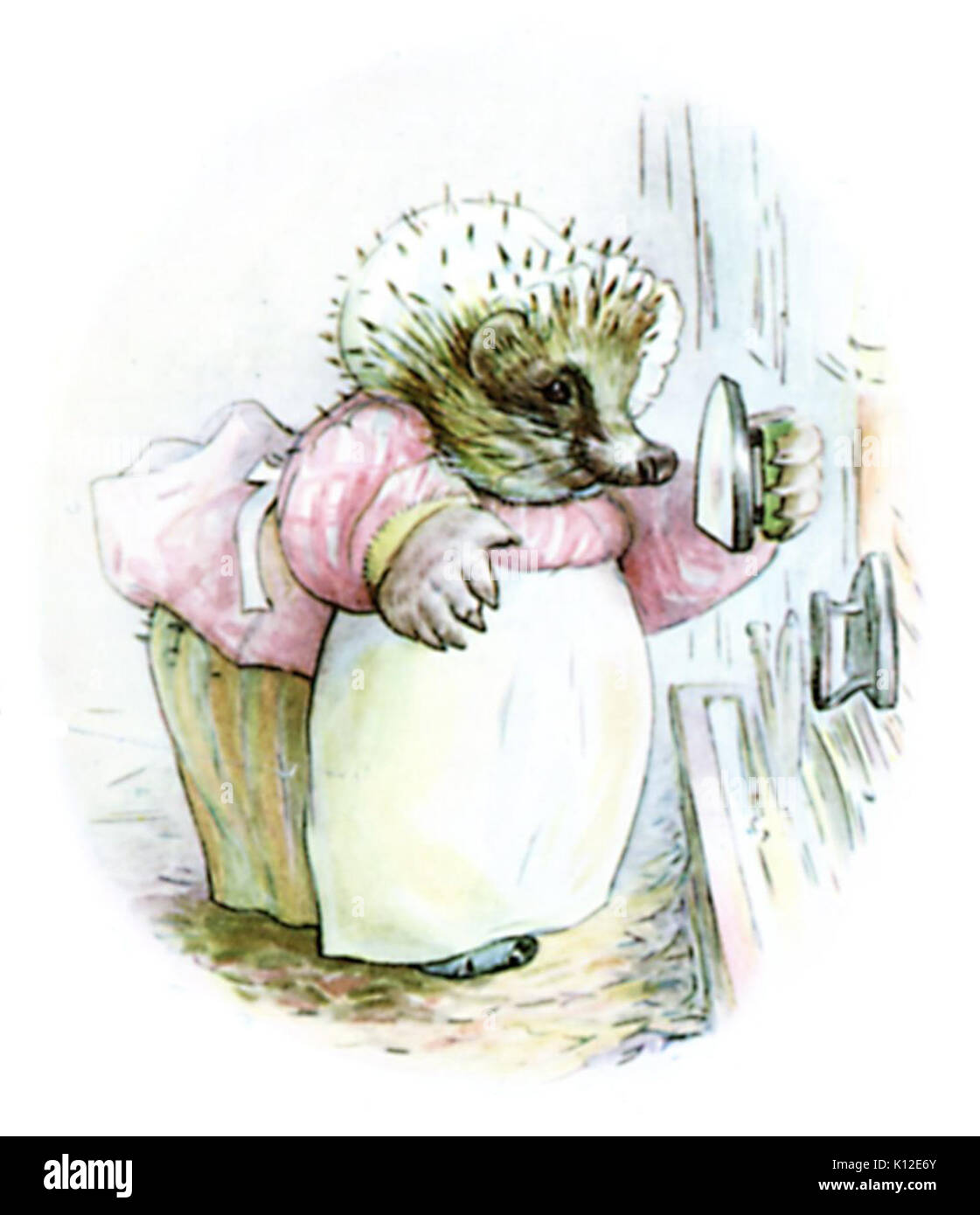Beatrix Potter, Mrs Tiggy Winkle, Frontispiece - Stock Image