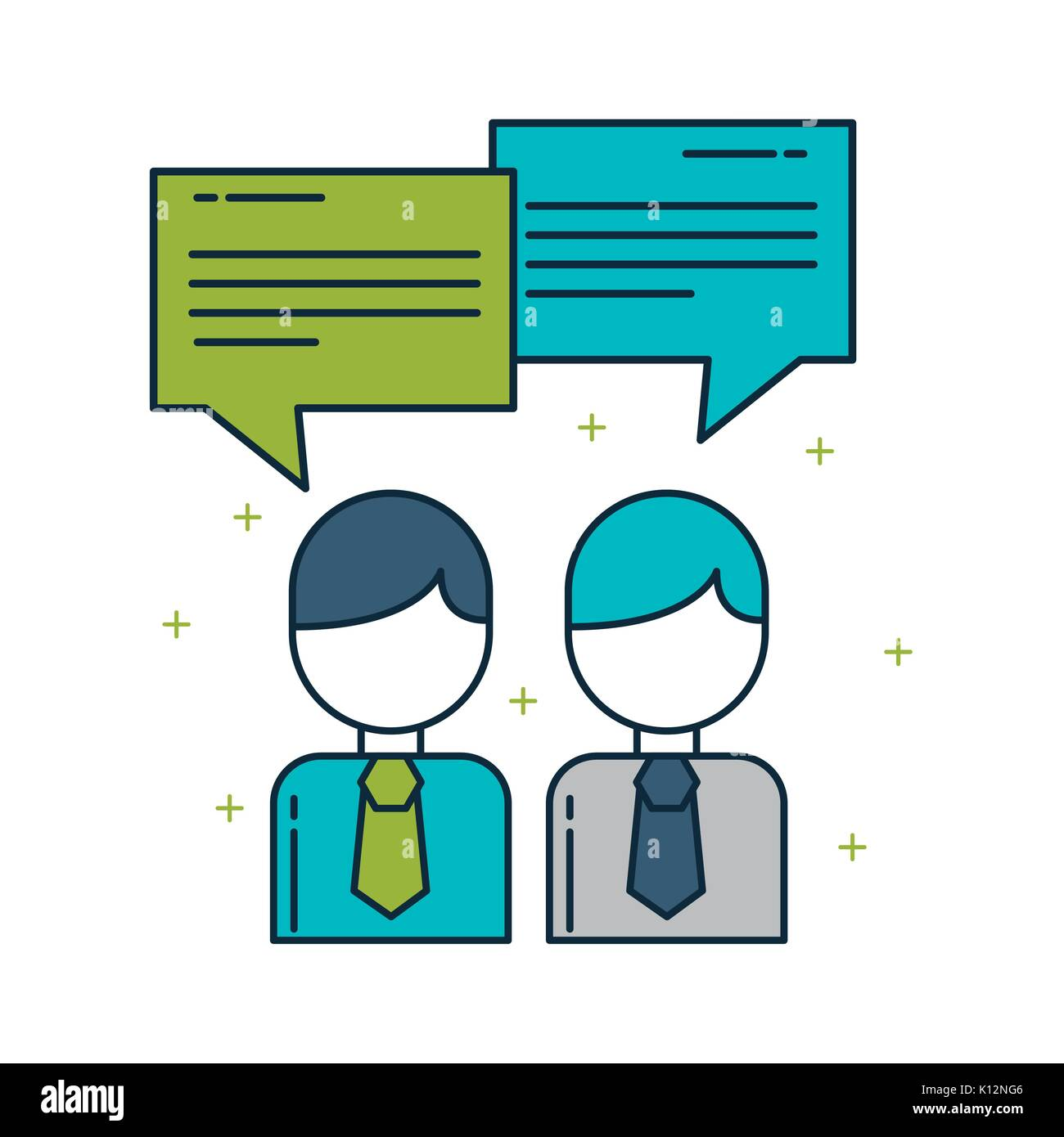 businessman digital marketing - Stock Image