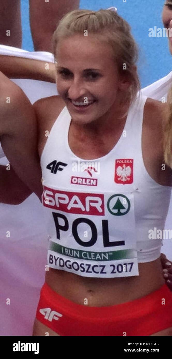 Aleksandra Gaworska 2017 - Stock Image