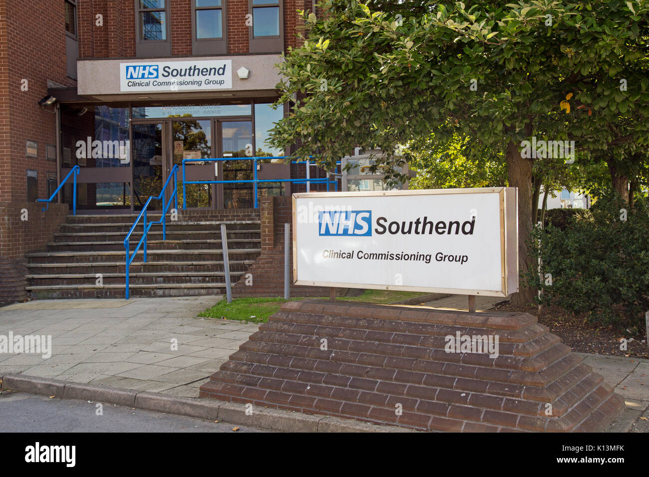 18th August 2017, Southend On Sea, Essex, England, The Clinical Commissioning Group building at Harcourt Avenue. - Stock Image