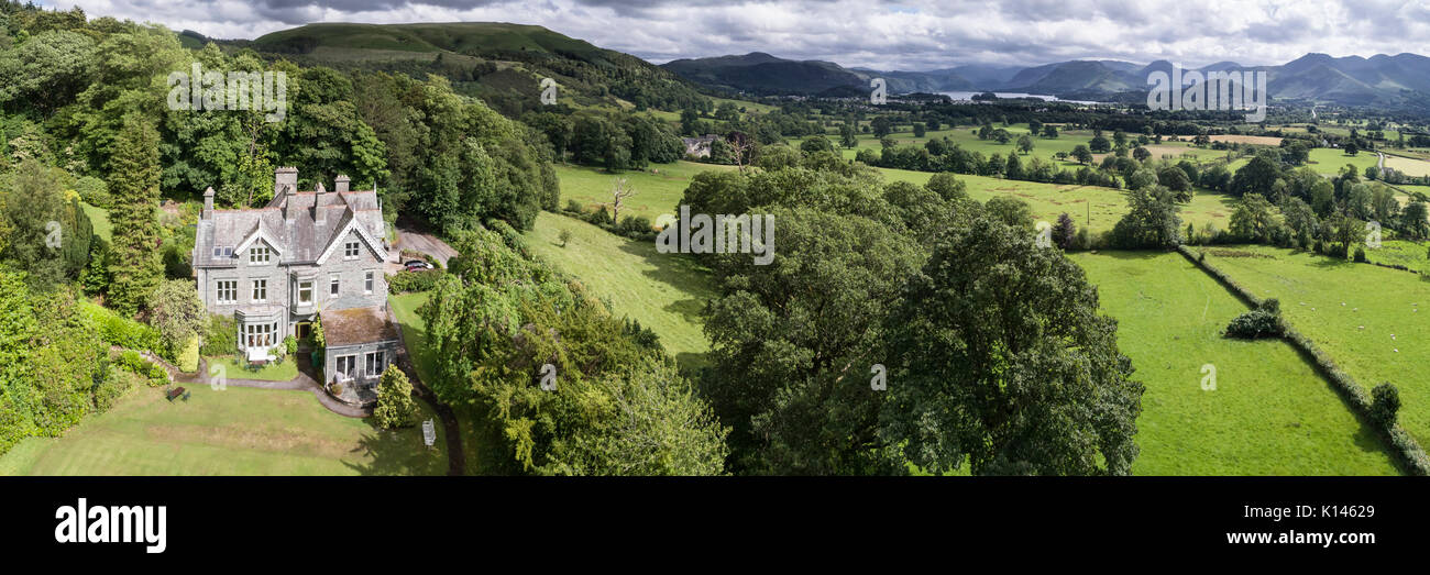 Applethwaite Country House Stock Photo