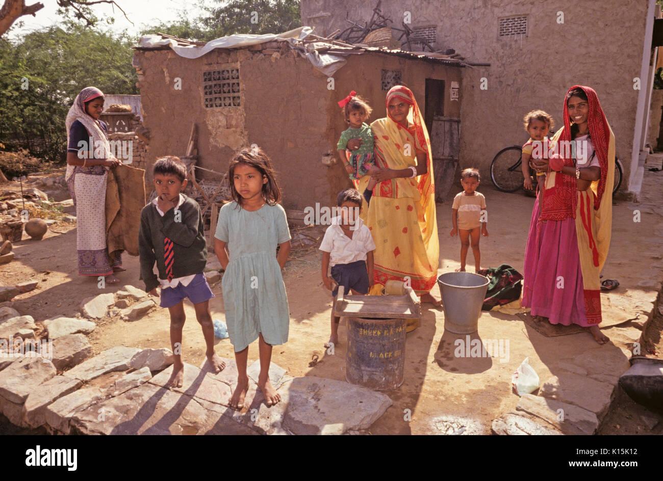 Family Poverty India Stock Photos Amp Family Poverty India