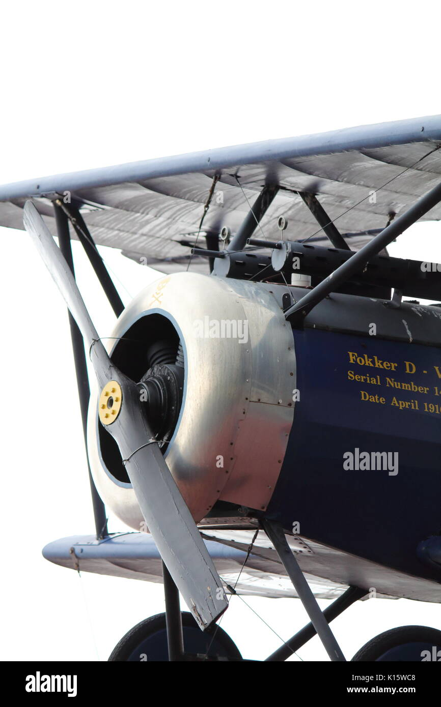 World War 1 German Bi-Plane - Stock Image