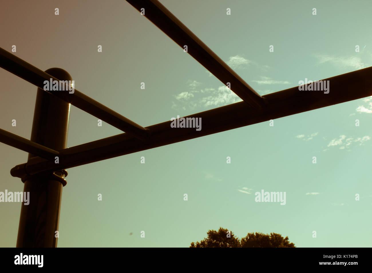 Monkey Bars - Stock Image