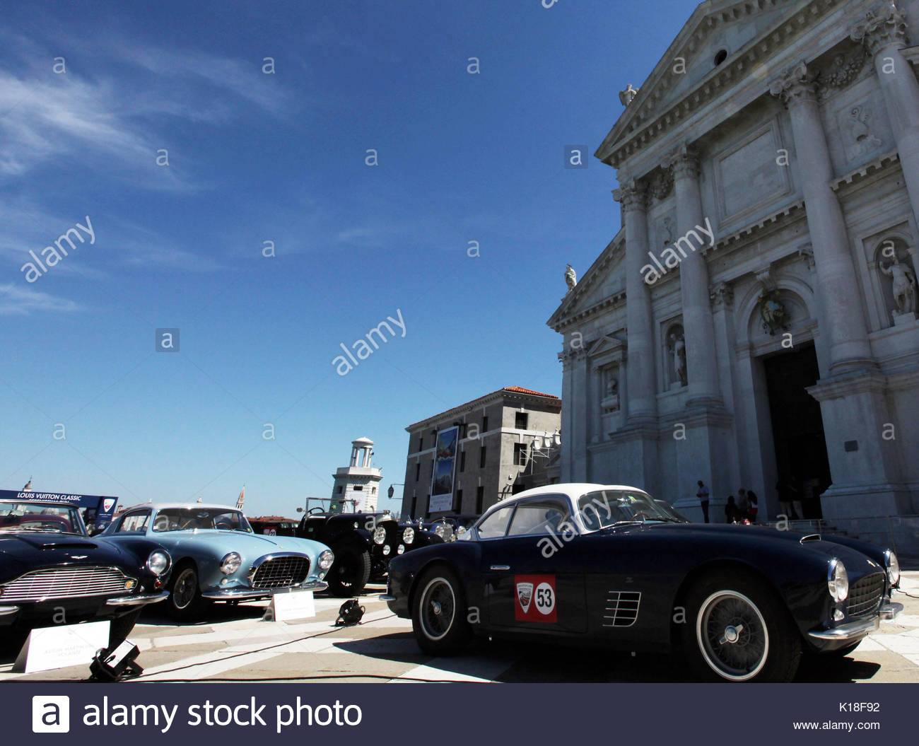 Louis Vuitton Classic Serenissima Run. The race of vintage cars ...