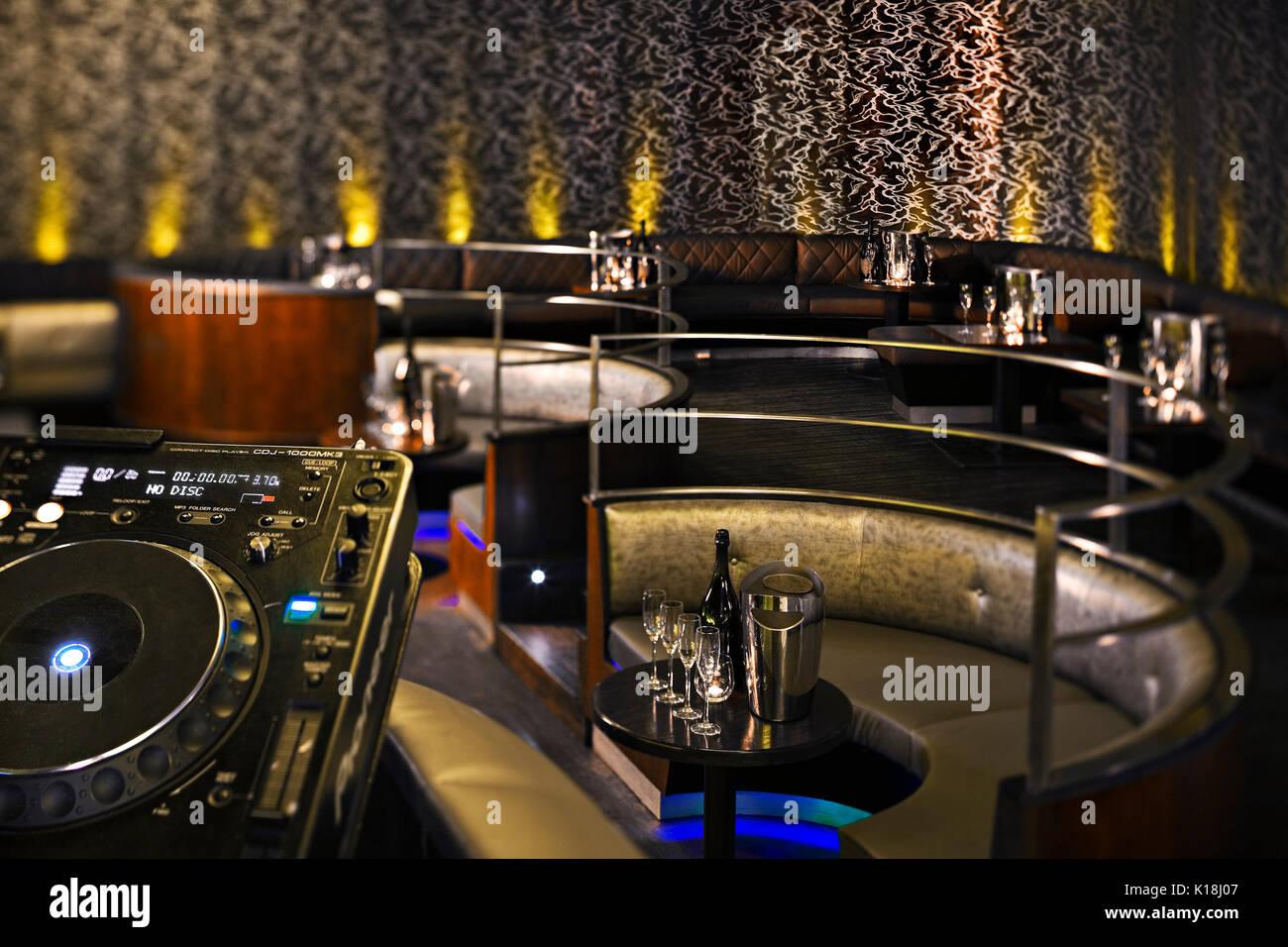 London Nightclub Stock Photo