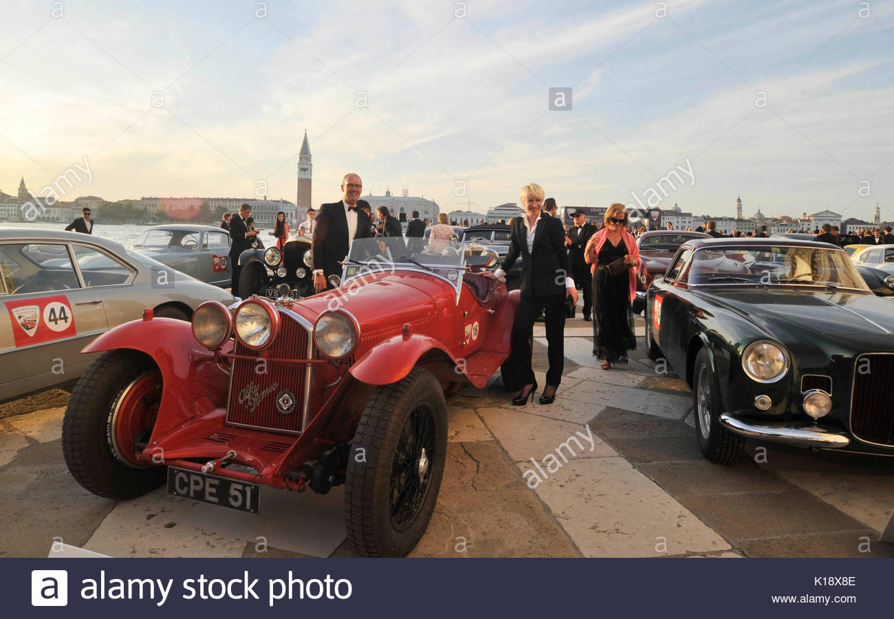 The race of vintage cars \'Louis Vuitton Classic Serenissima Run ...