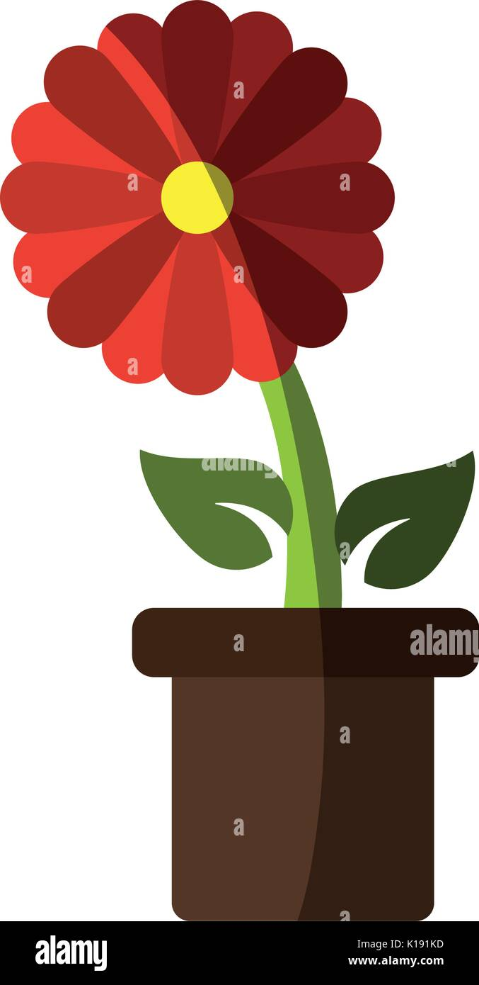 Flower Pot Drawing Sketch Stock Photos & Flower Pot Drawing Sketch ...