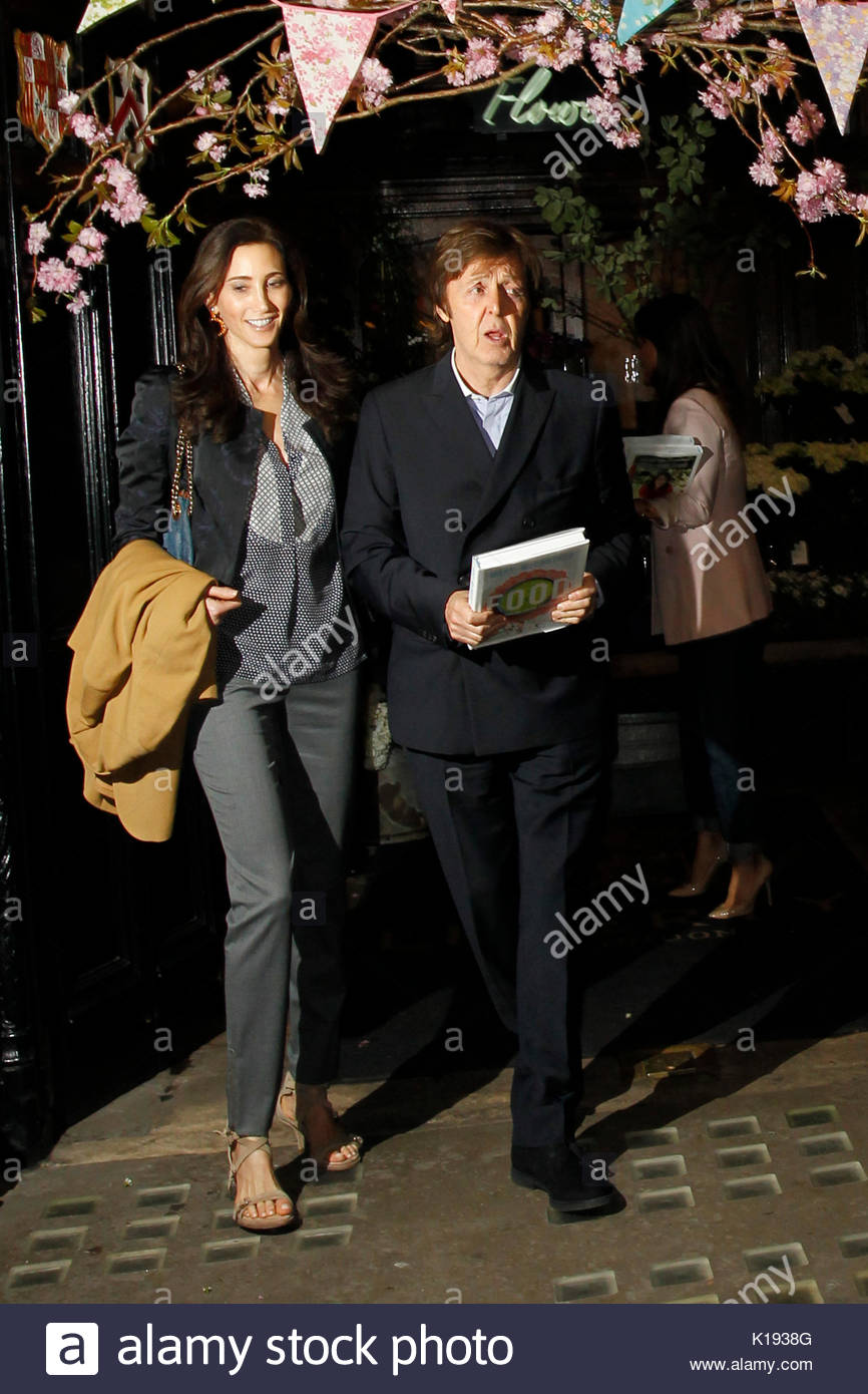 Sir Paul McCartney And Nancy Shevell Stella McCartneyJames At The Mary Book Launch Party