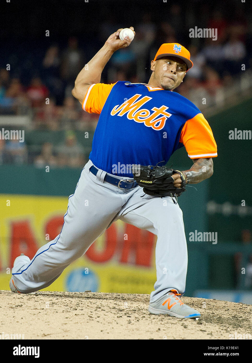 56fa24487 New York Mets relief pitcher AJ Ramos (44) pitches in the ninth inning  against