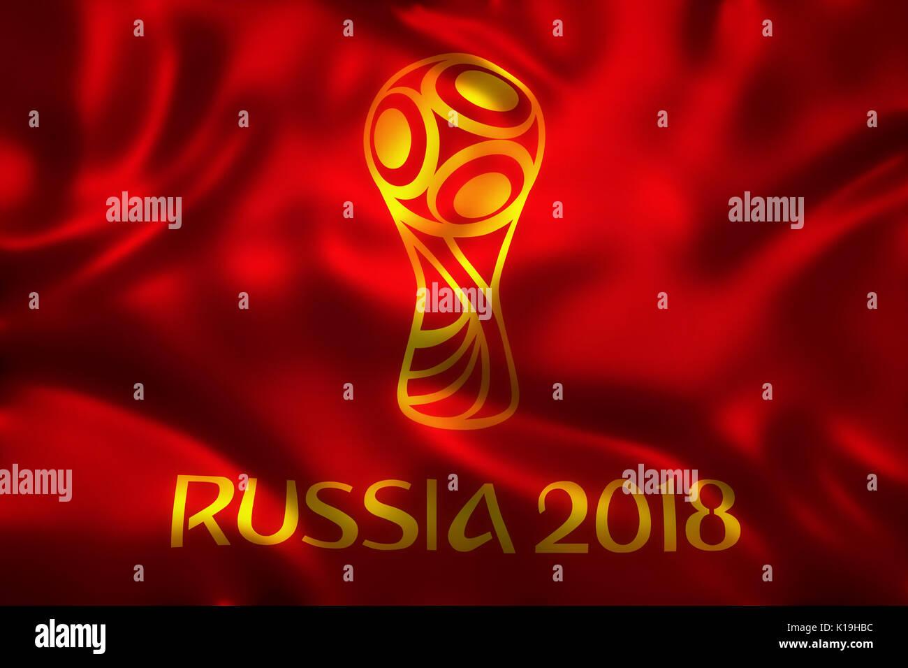 3d rendering of flag for world football 2018 wallpaper world soccer K19HBC
