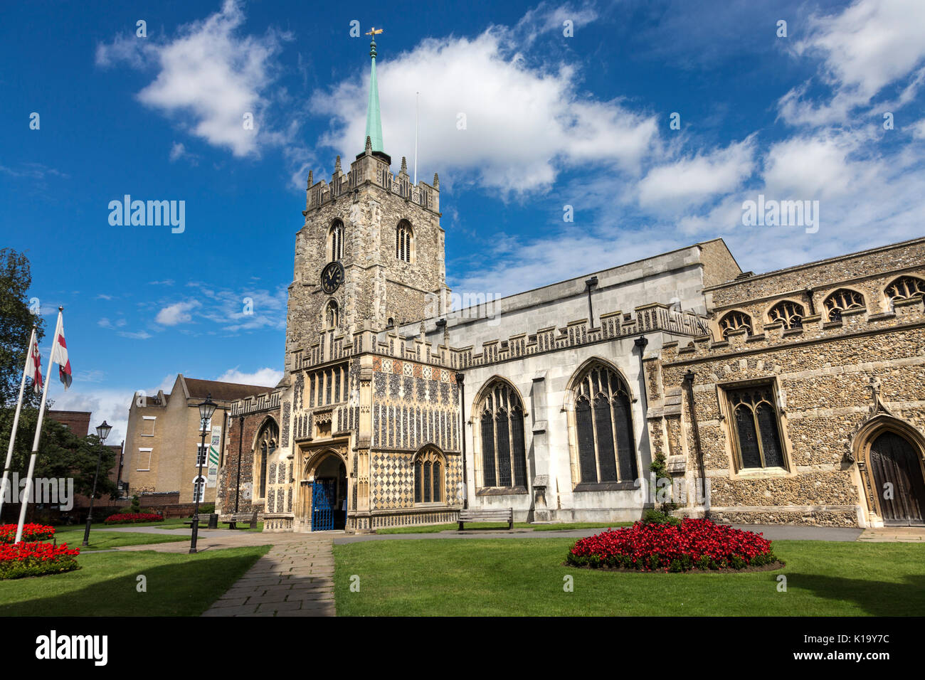 Chelmsford Cathedral in Chelmsford, Essex, UK - Stock Image
