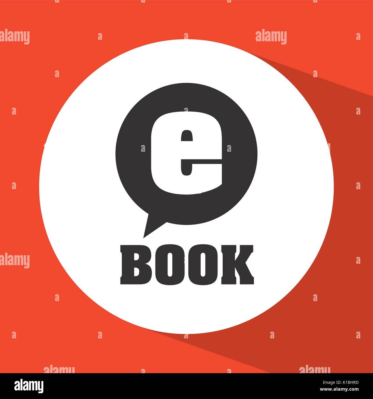 download e-book design  - Stock Image