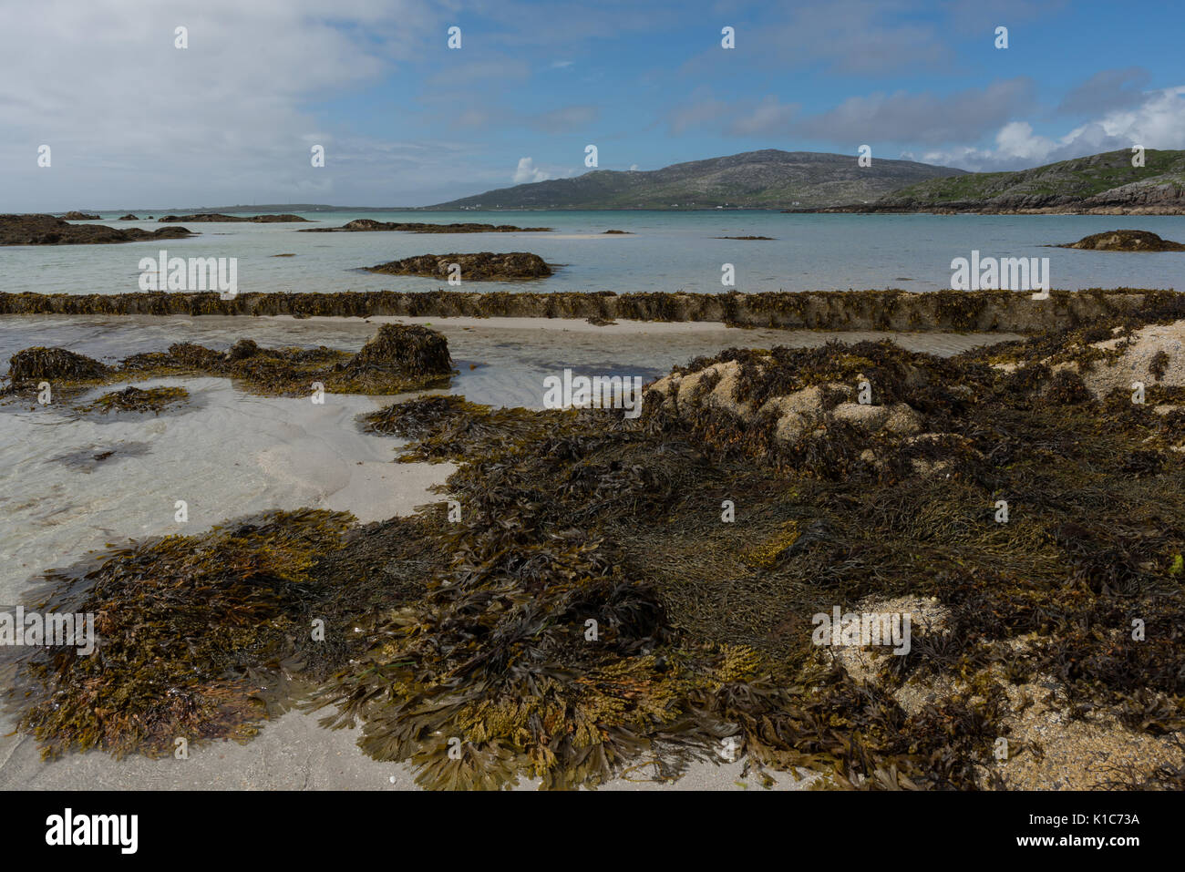 Eriksay Beach, Outer Hebrides - Stock Image