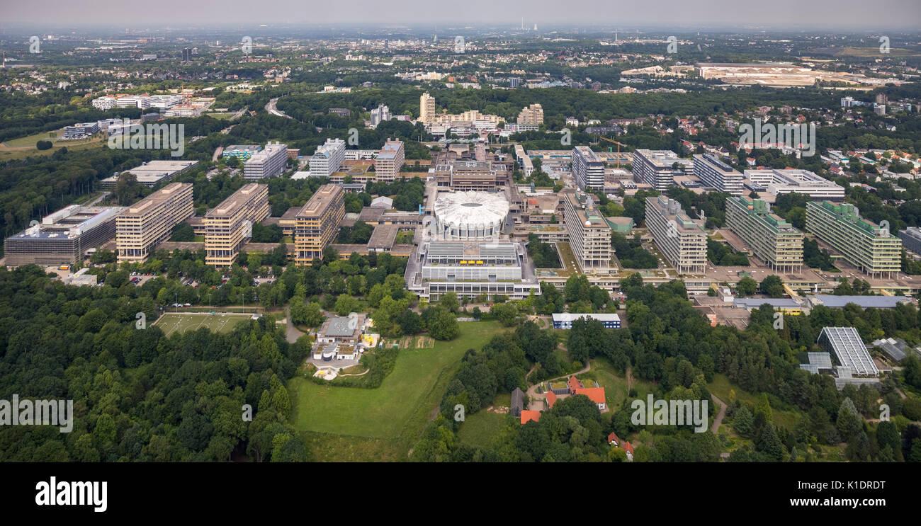 Ruhr University Bochum, RUB, Bochum, Ruhr area, North Rhine-Westphalia, Germany - Stock Image