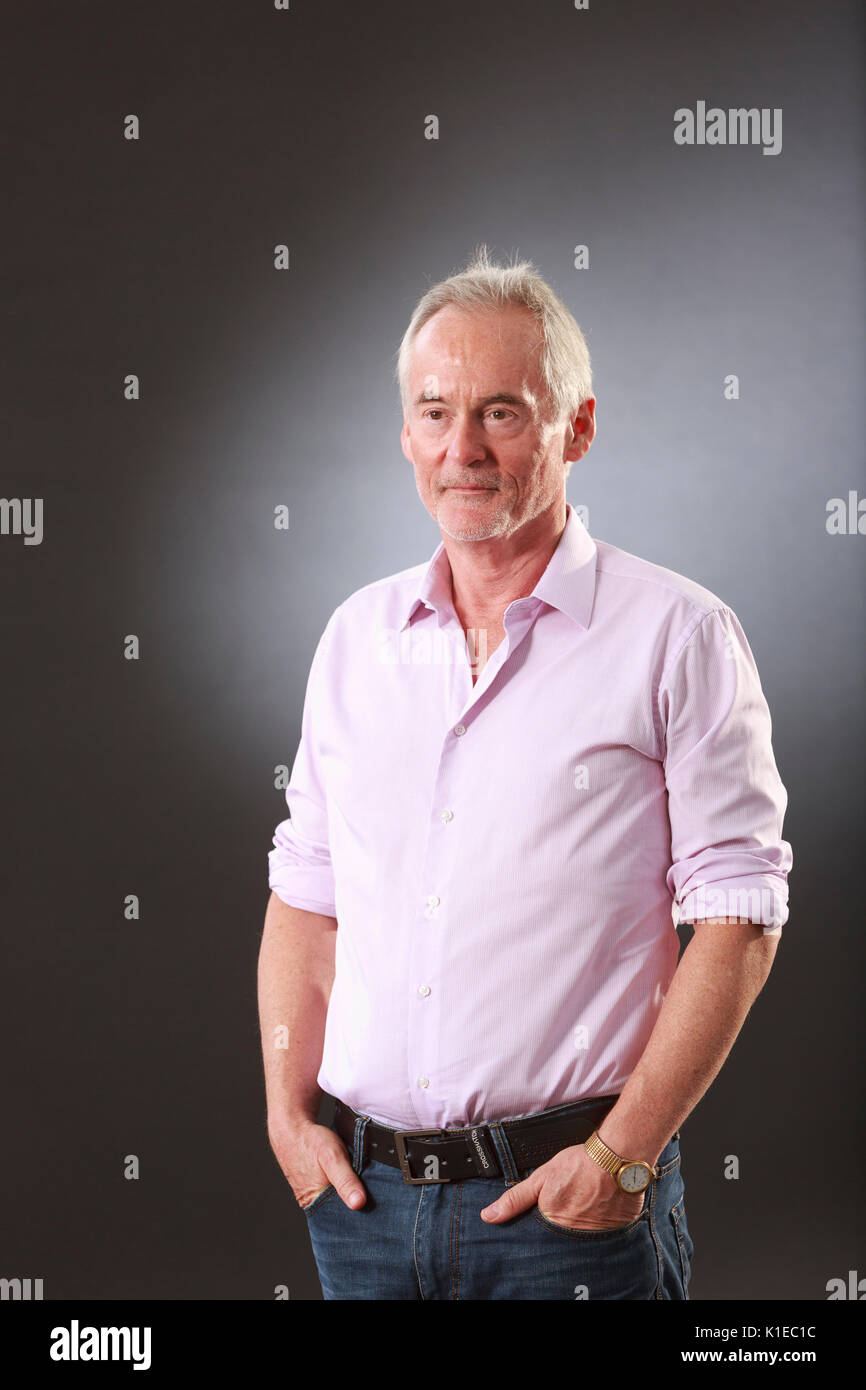 Edinburgh, Scotland, UK. 27th Aug, 2017. Day 16 Edinburgh International Book Festival. Pictured: Martin Sixsmith Stock Photo