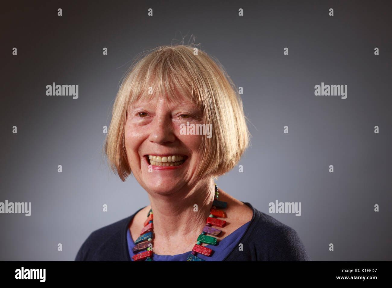 Edinburgh, Scotland, UK. 27th Aug, 2017. Day 16 Edinburgh International Book Festival. Pictured: Sheila Rowbotham, British socialist feminist theorist and writer. Credit: Pako Mera/Alamy Live News - Stock Image