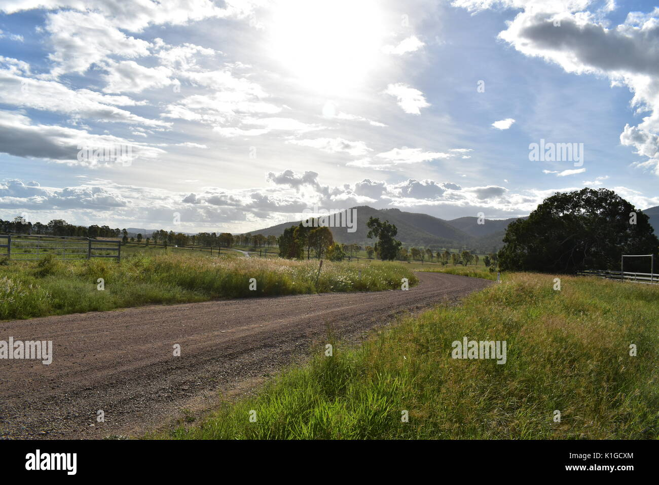 Country Roads - Stock Image
