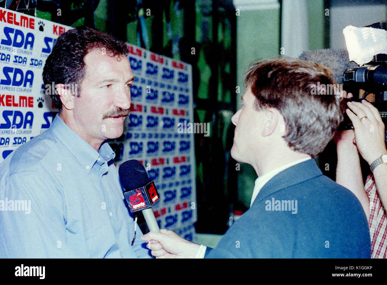 Scotsman Graeme Souness is appointed manager of Torino FC in Italy in the summer of 1997 - he lasted four months. Stock Photo