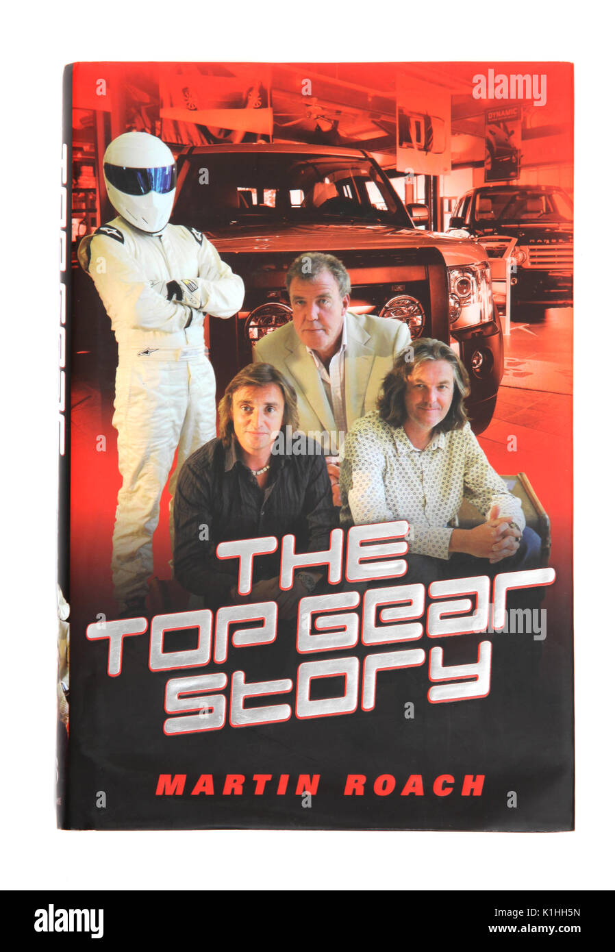 The book The Top Gear Story by Martin Roach - Stock Image