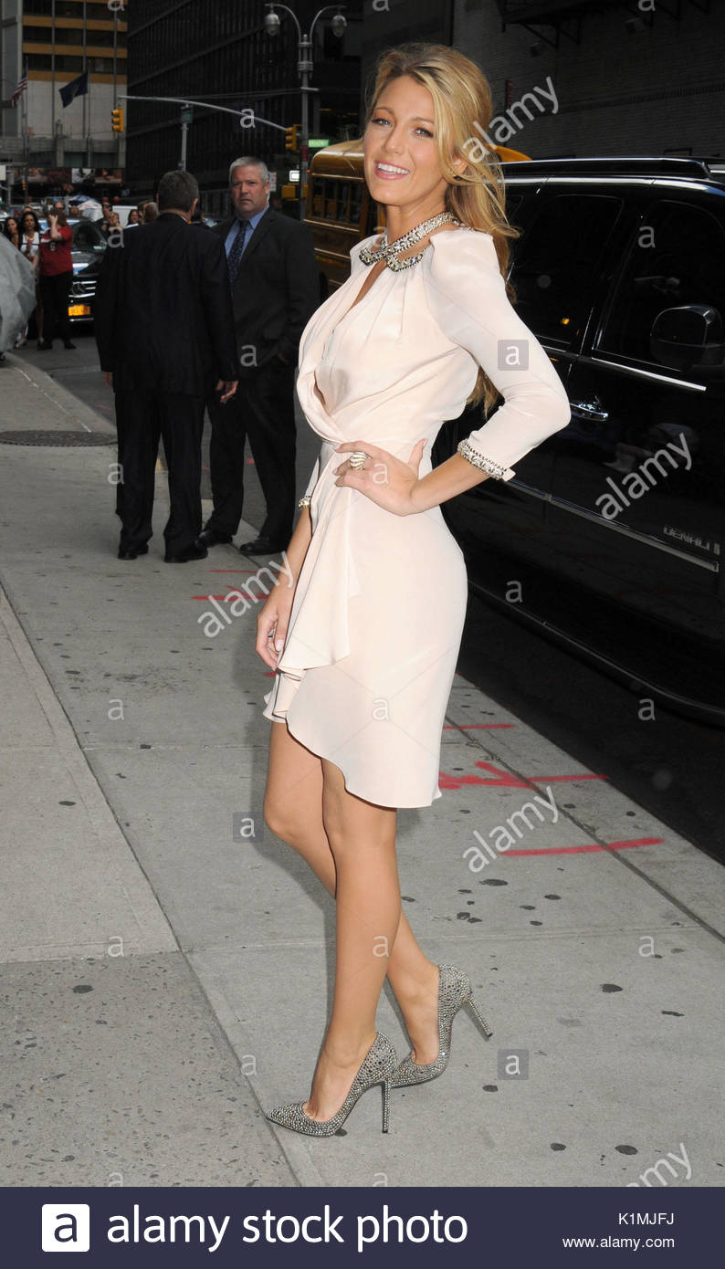 Blake Lively. Actress Blake Lively arrives for \'The Late Show With ...