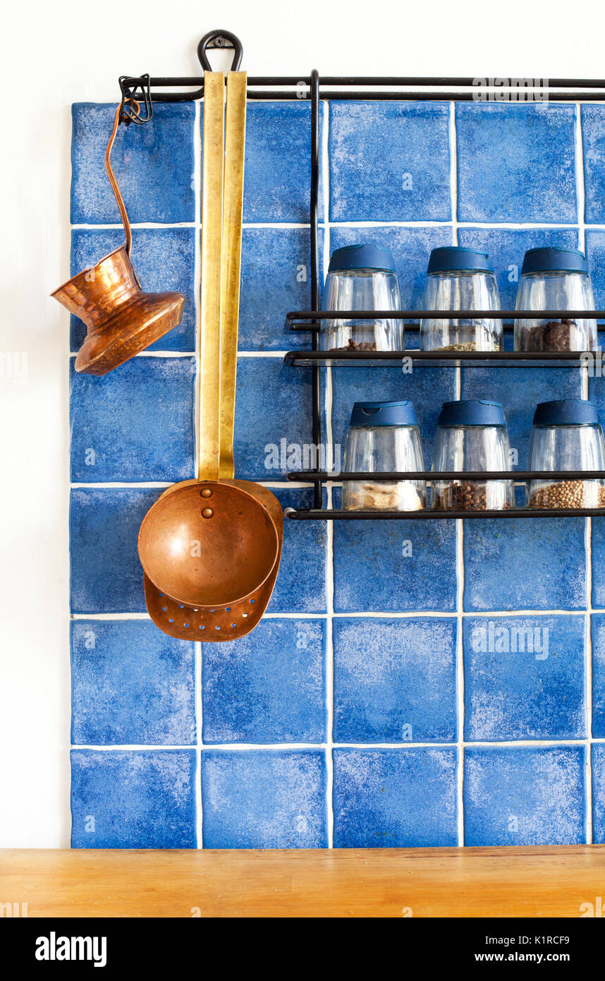 Traditional Brass Kitchen Utensils In Stock Photos & Traditional ...