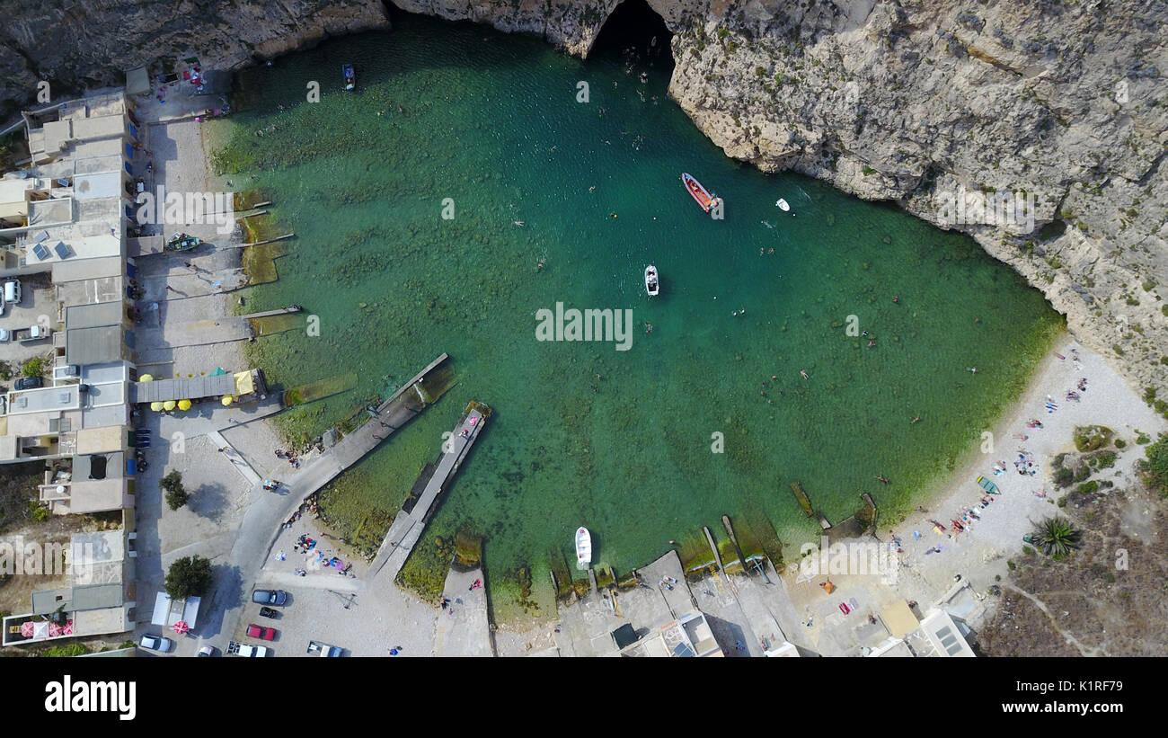 Inland sea Gozo - Stock Image