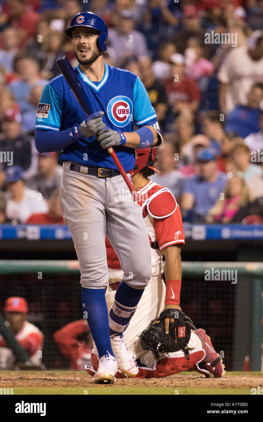 watch 92010 f8524 August 25, 2017: Chicago Cubs third baseman Kris Bryant (17 ...