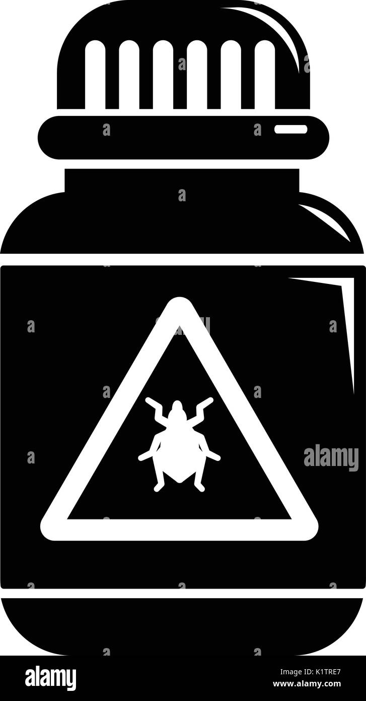Rat poison warning sign stock photos rat poison warning sign poison insects icon simple black style stock image biocorpaavc Image collections