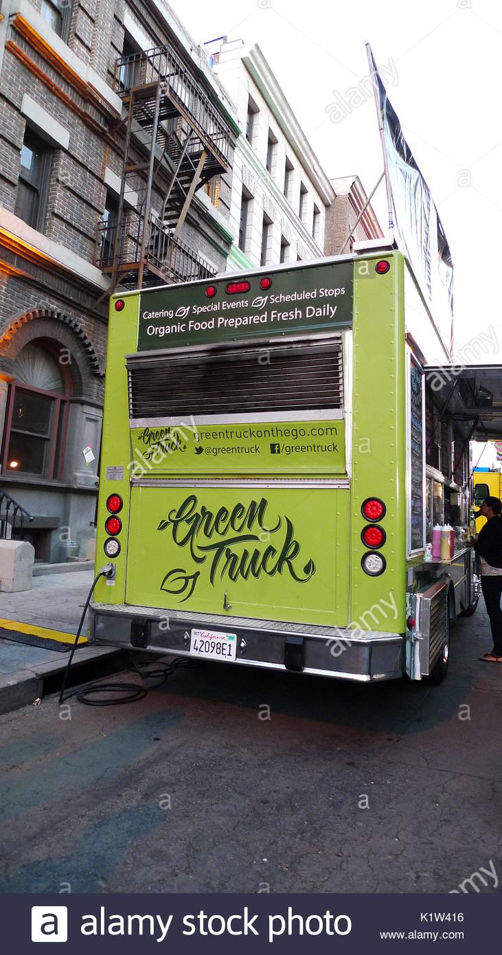 Art Walk Food Trucks Los Angeles