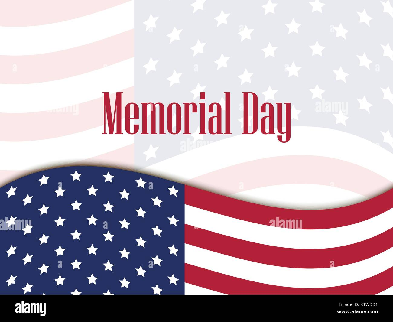 Memorial Day Closed Sign Template from c8.alamy.com