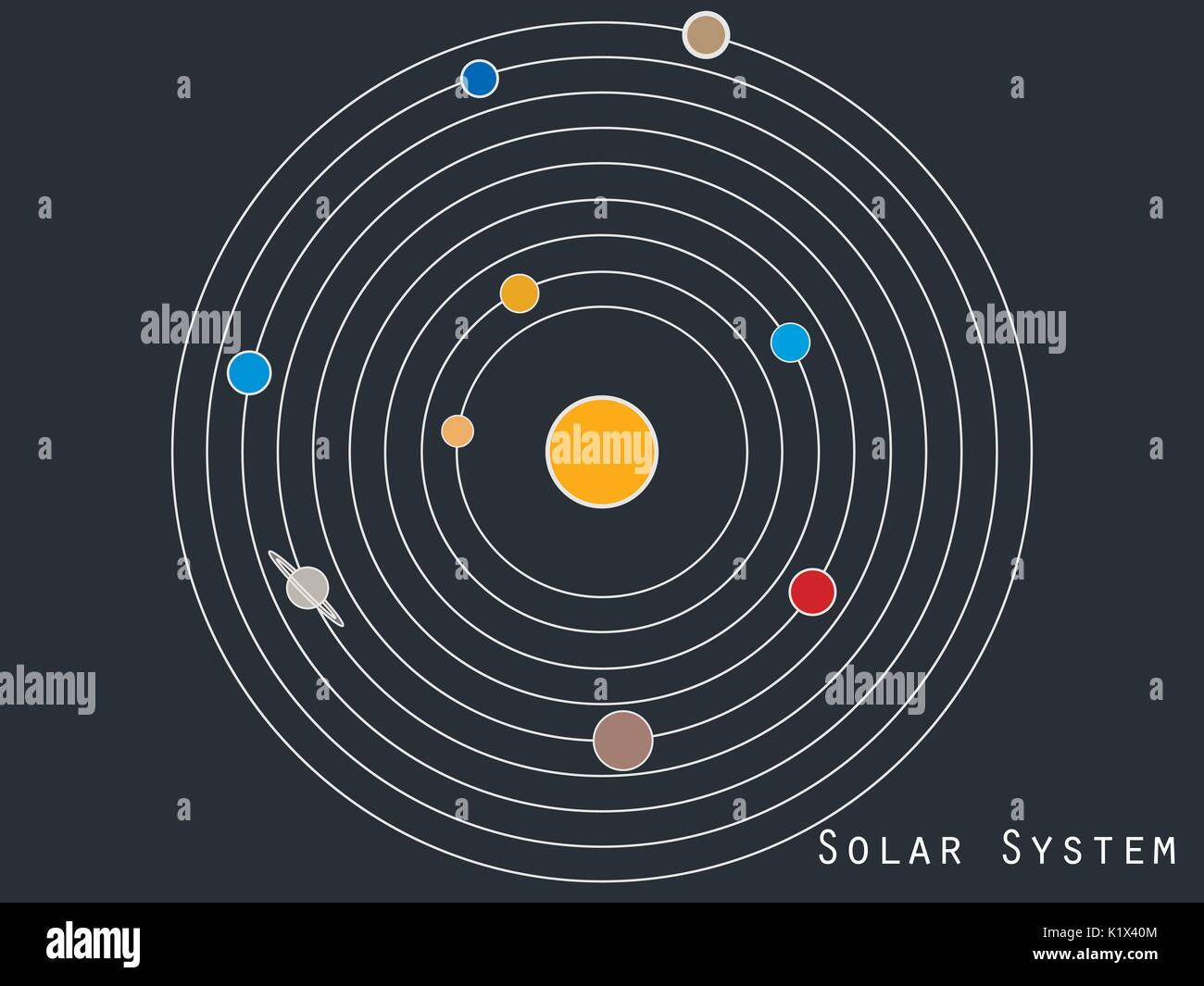 Solar System Planets Stock Photos Amp Solar System Planets