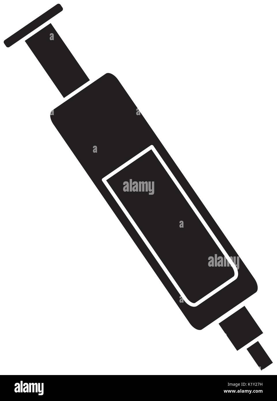 injection icon  image - Stock Vector