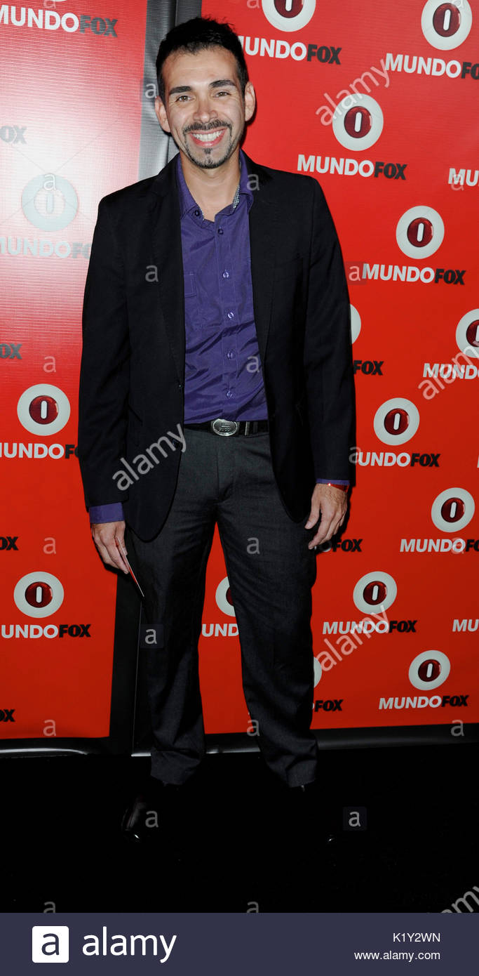 Andre Bauth. Fox in conjunction with RCN celebrates the launch of MundoFox, a new Spanish-language broadcast network, - Stock Image