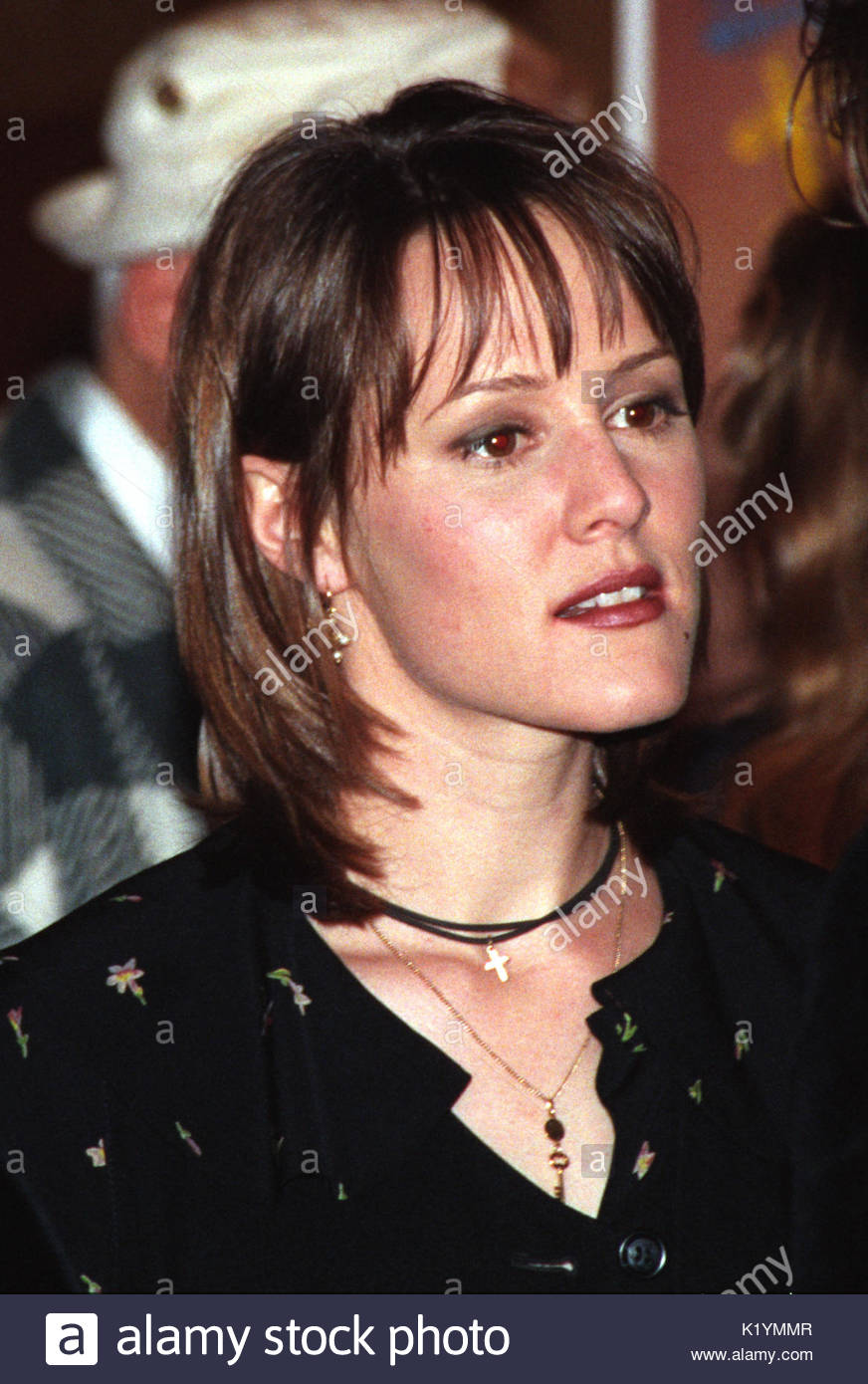 """Mary Stuart Masterson. Celebrities attend the """"Bennie & Joon"""" film premiere and afterparty in Los Angeles. First Stock Photo"""