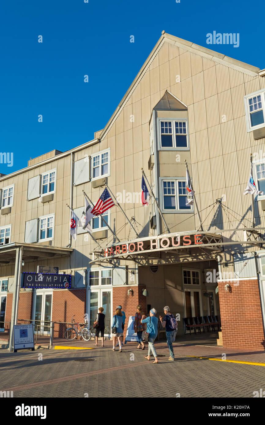 Texas, Galveston, Pier 21, Harbor House Hotel, Olympia Greek Restaurant